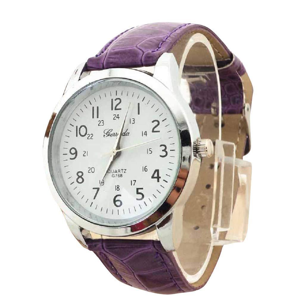 Elegant Analog Luxury Sports Leather Strap Quartz Mens Wrist Watch Pp