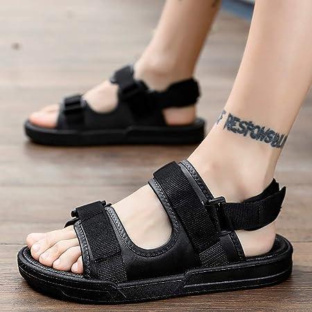Mens Sport Strap Sandal Beach Shoes Flat Sandal