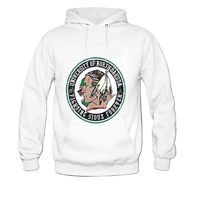 ZTANG Mens Universidad de Norte Dakota-Fighting Sioux Sudadera Pullover Sudaderas: Amazon.es: Ropa y accesorios