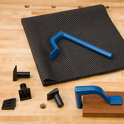 - Bench Accessory Kit with Bench Dogs and Holdfasts.