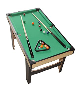 WGW Small Tabletop Ball Billiards Home Billiard Game Sets Pool Table