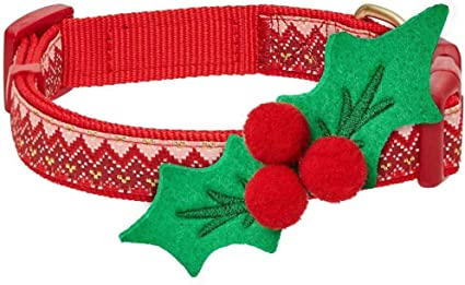 Blueberry Pet 9 Designs Holiday Christmas Festival Dog Collars, Collar Covers