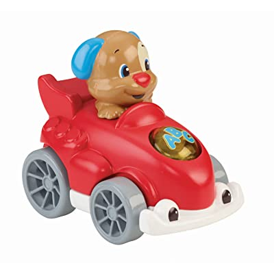 Fisher-Price Laugh & Learn Smart Speedsters, Puppy: Toys & Games