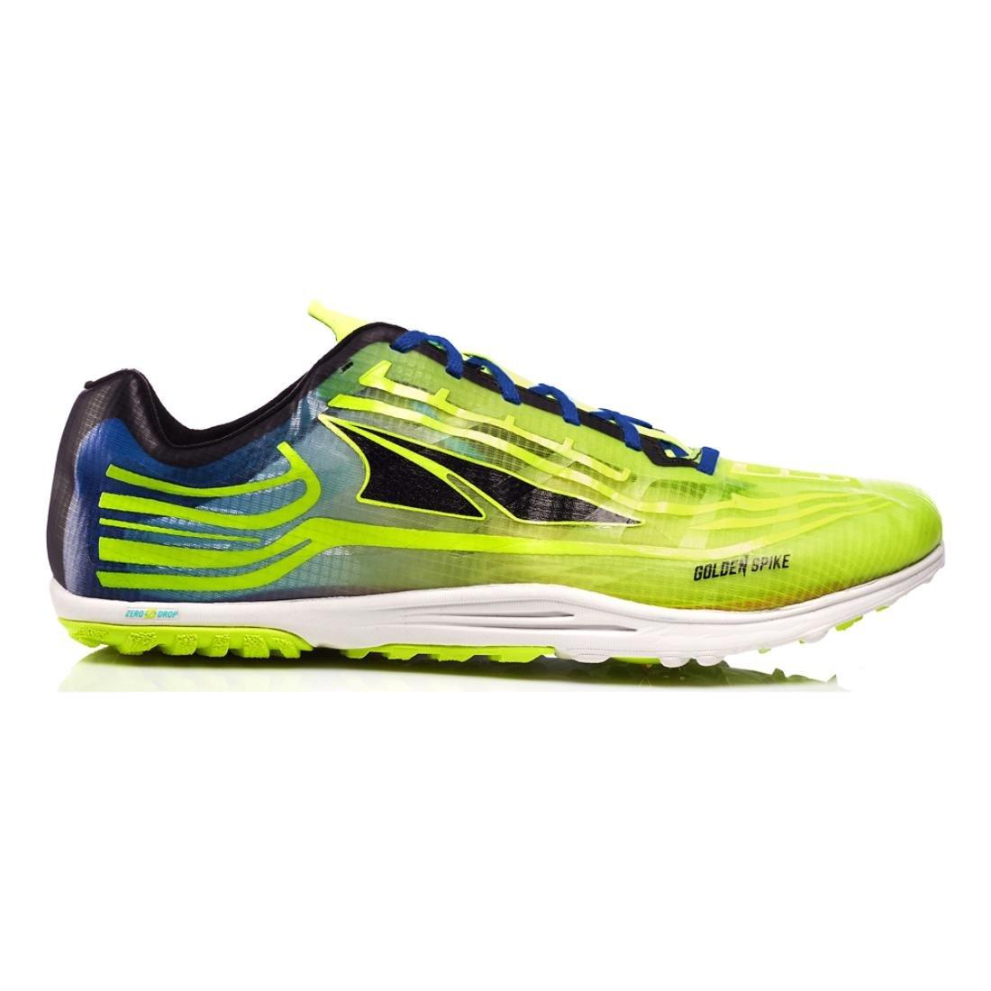 Altra Men's Golden Spike Running Shoe B01NBN409V 11 M US Women / 9.5 M US Men|Lime/Blue