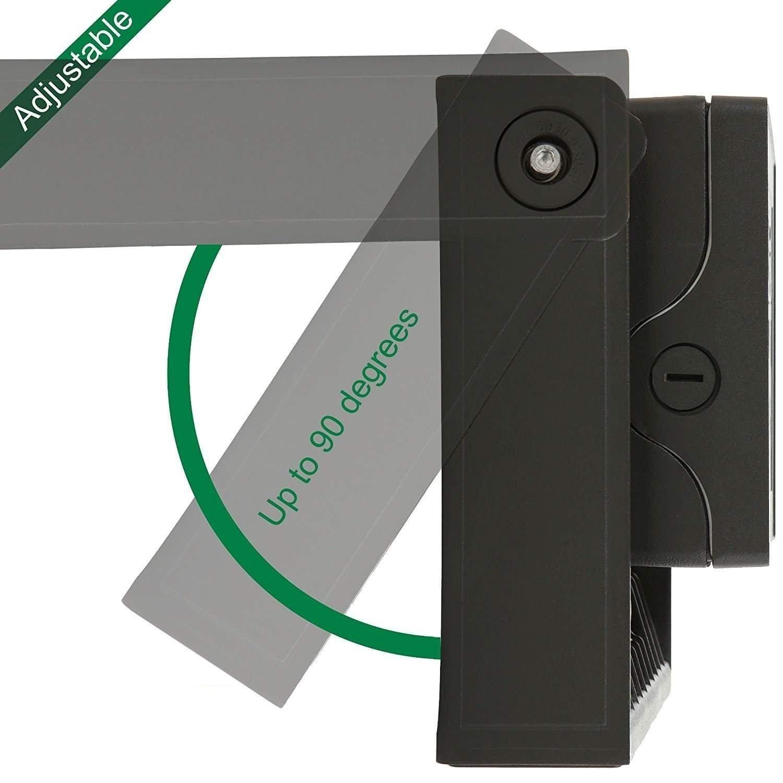50W LED Adjustable Wall Pack - 5000K (Daylight) 6100 Lumens, 150 Watt HPS/HID Replacement, 90 Degree Adjustable Wallpack, IP65 Waterproof Outdoor Security Area Light,UL