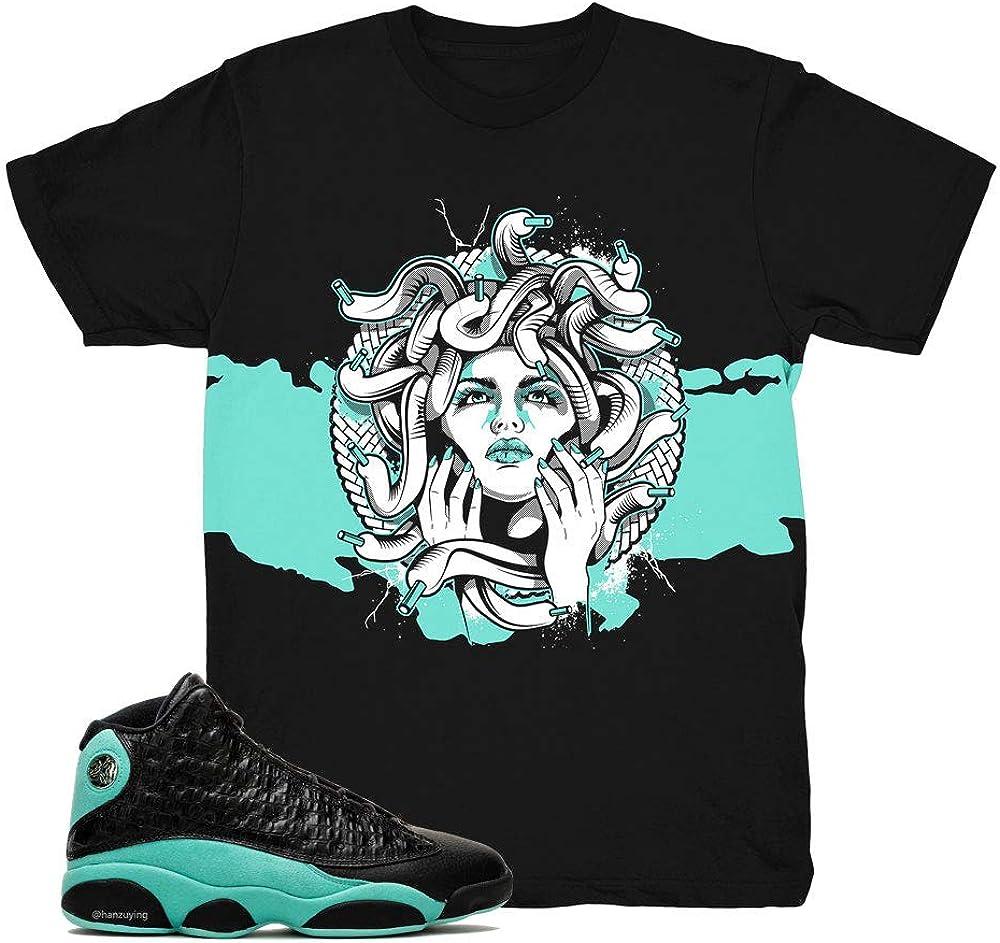 Island Green 13 Medusa Shark Shirt