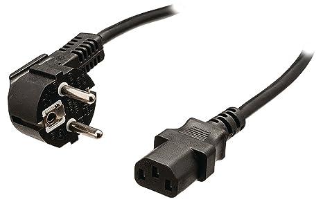 bluetik- Cable de alimentación Sector para PC, Proyector de vídeo ...