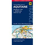 AA Road Map Aquitaine (AA Touring Map France 05) (Road Map France)