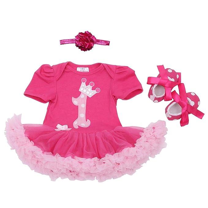 Marlegard Long Sleeves Baby Girls 2nd Birthday Tutu Dress Headband Leggings