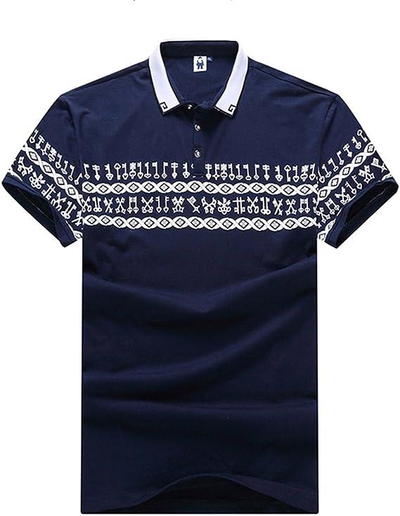 Gladiolus Polo para Hombre Camiseta/Camisa Deportiva con Manga ...