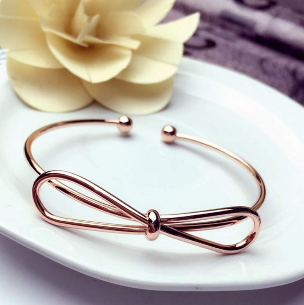 1 X Fashion Women Jewelry Solid 925 Sterling Silver Bangle Bracelet Gift Hecentur