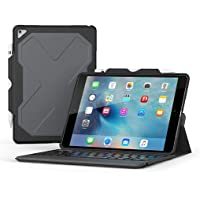 Zagg Rugged Messenger 7 Color Backlit Funda y Teclado Bluetooth para 2017 Apple iPad Pro 10.5 – Negro