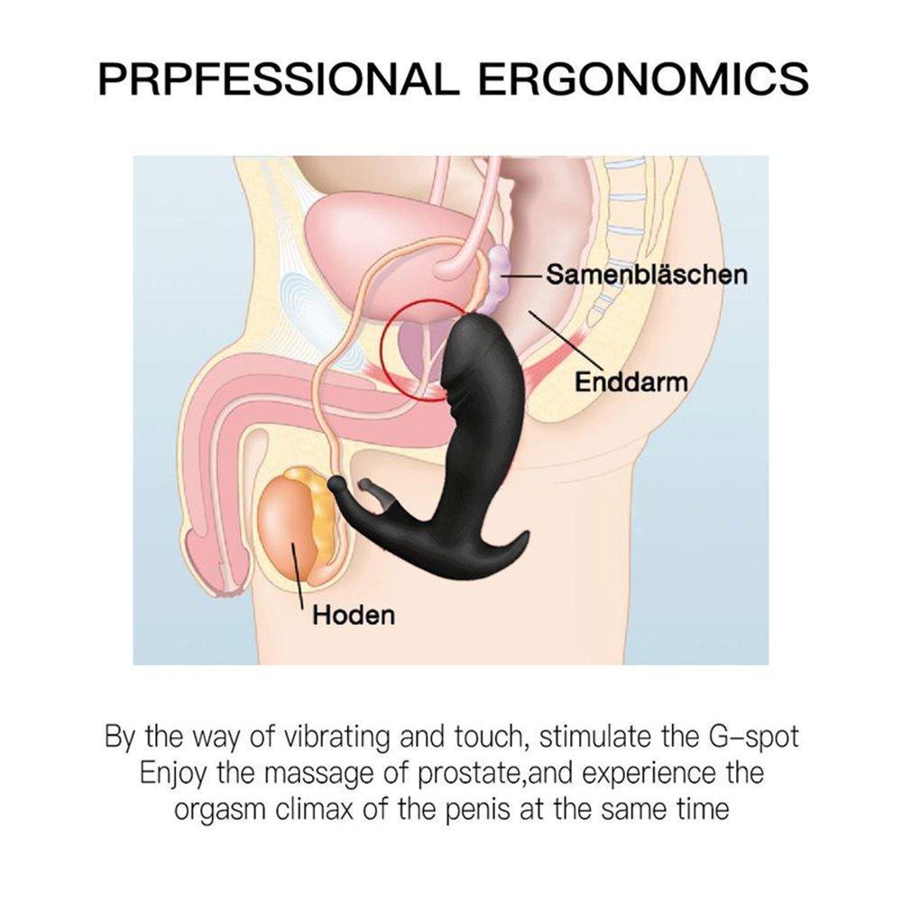 ordeña la próstata con un vibrador