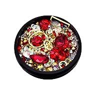 YUYOUG DIY Nail Art 3D Diamant Strass à Ongles Art Décorations