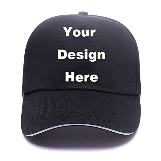 ca72e956b79 PONK Adjustable Blank Custom Caps-Personalize With Your Business Logo Or  Own Team Baseball Cap