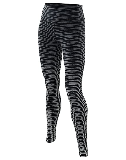 ee09811f9abce Amazon.com : Nike Womens Printed Legendary Tight Athletic Pants B/W ...