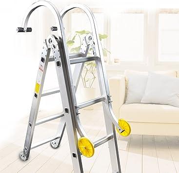 acefox Estabilizador de escalera techo gancho de aluminio Kit accesorio profesional convertidor Amarillo: Amazon.es: Bricolaje y herramientas