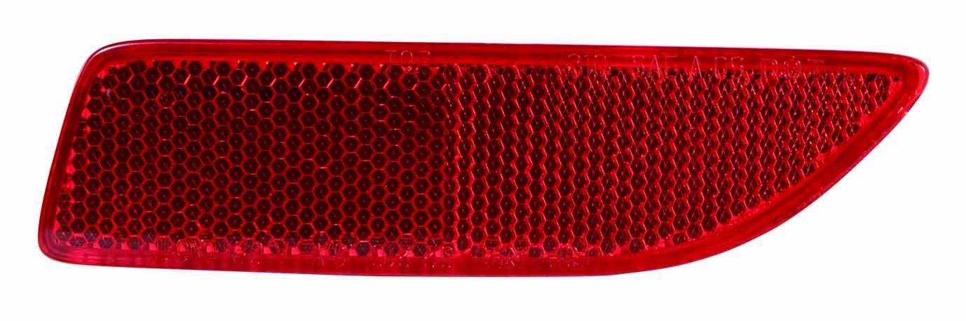 Depo 312-2903L-UQ Toyota Corolla Driver Side Rear Bumper Reflector