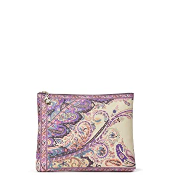 f921f62093 Image Unavailable. Image not available for. Color: Etro Women's  1E3802790400 Multicolor Pvc Cover