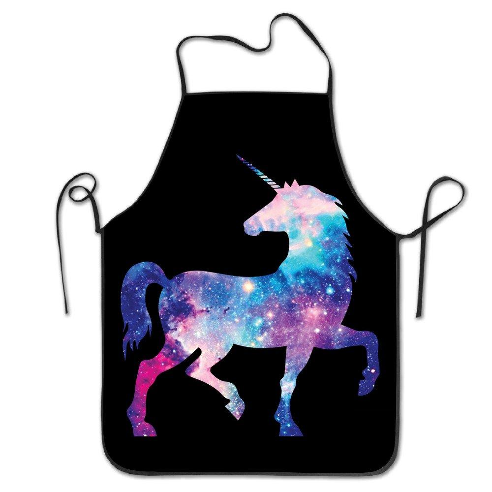 Universe Unicorn Chef Kitchen Cooking And Baking Bib Apron KMEll co ltd