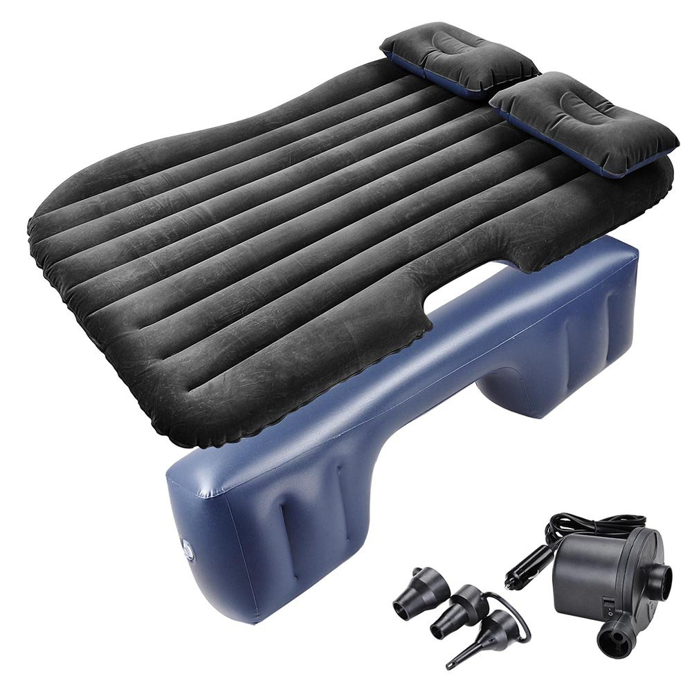 Yescom Inflatable Mattress Car Air Bed Backseat Cushion Travel Camping w/Pillow Pump by Yescom