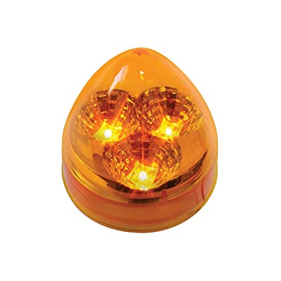 "GG Grand General 77690 Amber/Amber LED Light (2.5"" Spyder Beehive 3, Lens): Automotive"