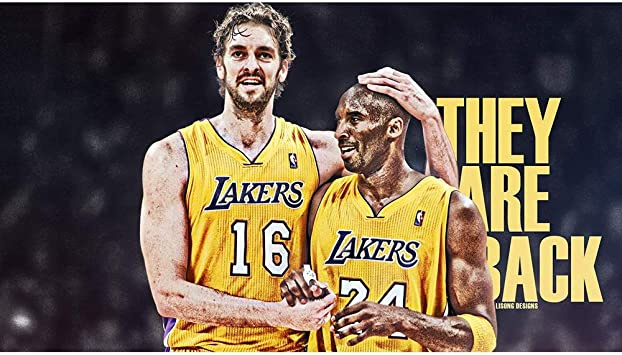 JCCOZ NBA Fan Jigsaw-Kobe Bryant y PAU Gasol Cartel de Madera 520/1000/1500 Piezas de Juguetes Colgantes Art Deco, Rompecabezas for Adultos (Size : 1000) : Amazon.es: Juguetes y juegos