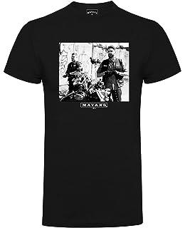 Mayans M.C EZ Poster Official Sons of Anarchy Black Mens T-shirt