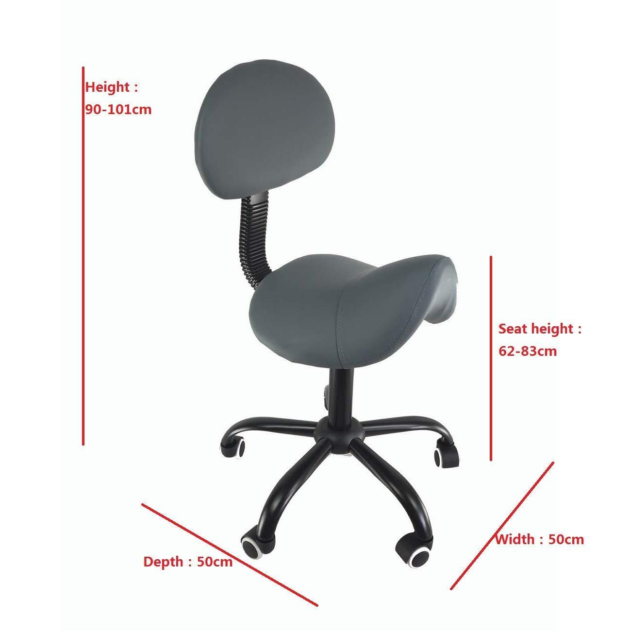 Tremendous Amazon Com Deed Home Chair Stool Folding Chair Saddle Salon Pabps2019 Chair Design Images Pabps2019Com