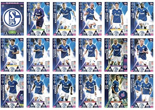 Juego Completo de 18 Cartas de Equipo de fútbol del Equipo ...