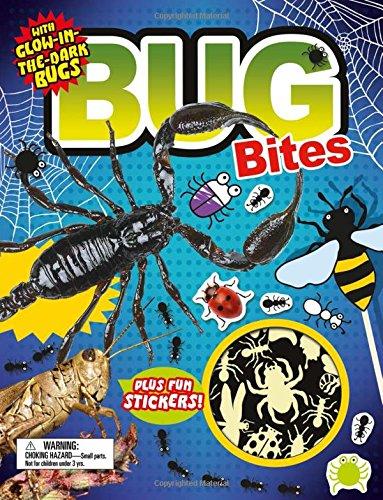 Fact Bites: Bug Bites: with Glow-in-the-Dark Bugs Plus Fun Stickers -
