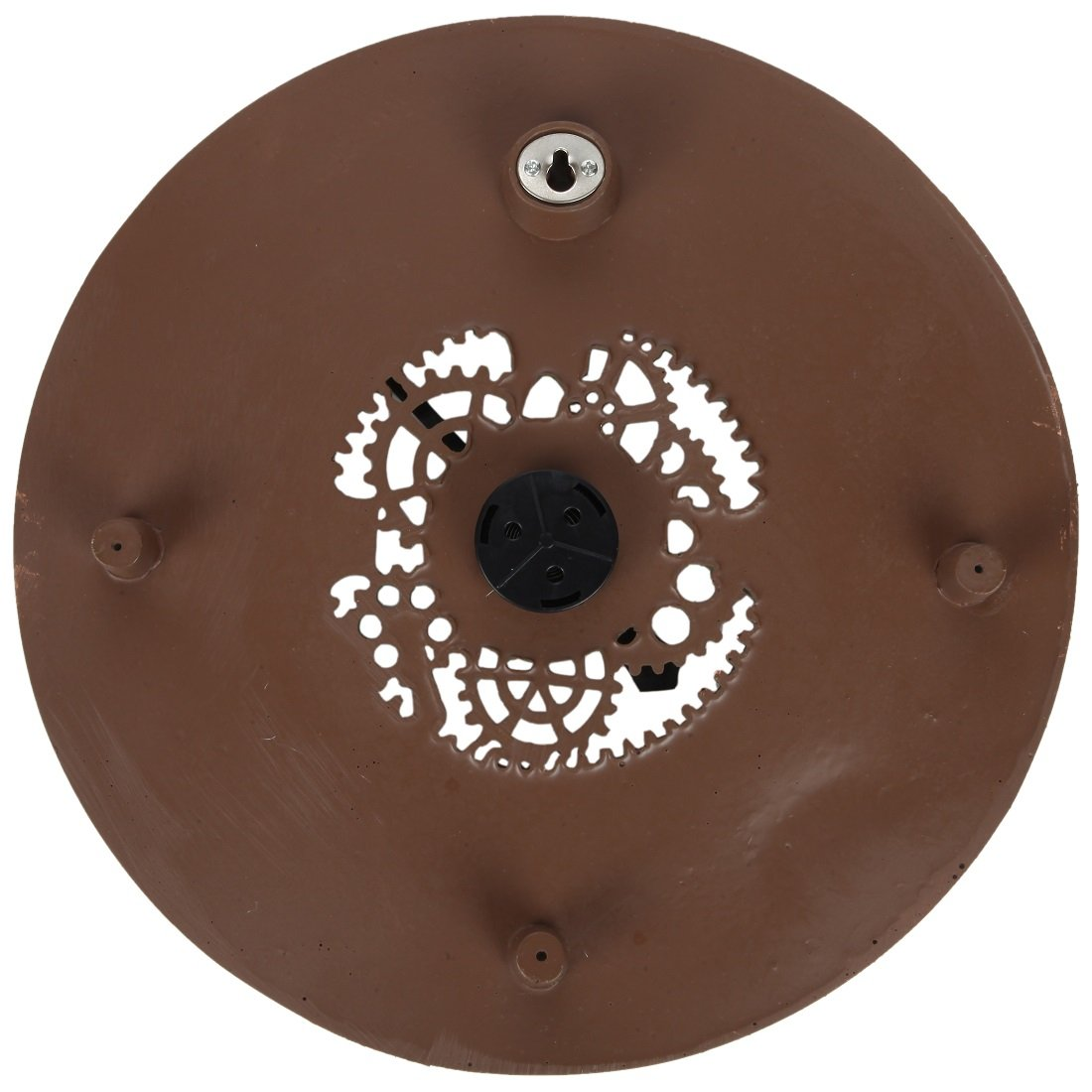 Lily's Home Hanging Wall Thermometer, Steampunk Gear and Cog Design with a Bronze Finish, Ideal for Indoor or Outdoor Use, Poly-Resin (13 Inches Diameter) by Lilyshome (Image #6)