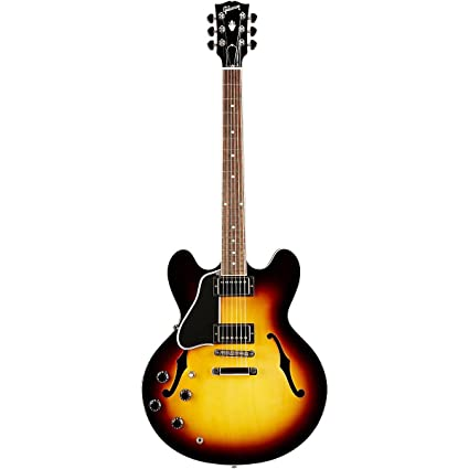 Gibson Memphis ES-335 esdplvsnh1 zurdos semi-hollow-body – Guitarra eléctrica,