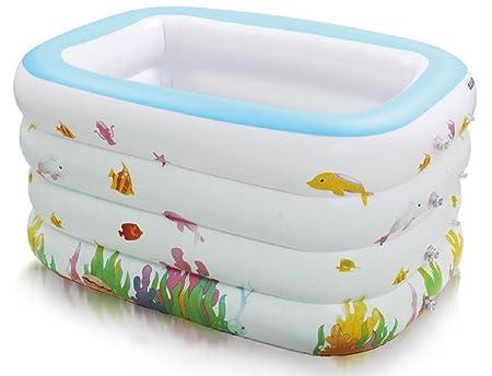 wenrit Bañera hinchable plegable hinchable para piscina ...