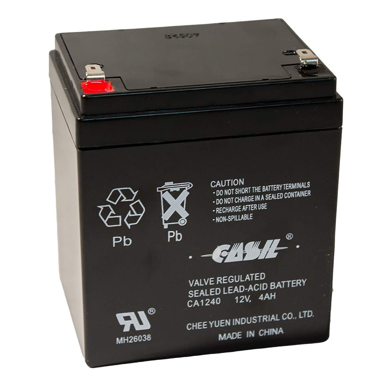Casil Genuine CA1240 - Batería para alarma de 12 V 4 Ah SLA ...