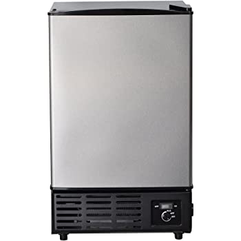 Amazon Com Costway Stainless Steel Commercial Ice Maker