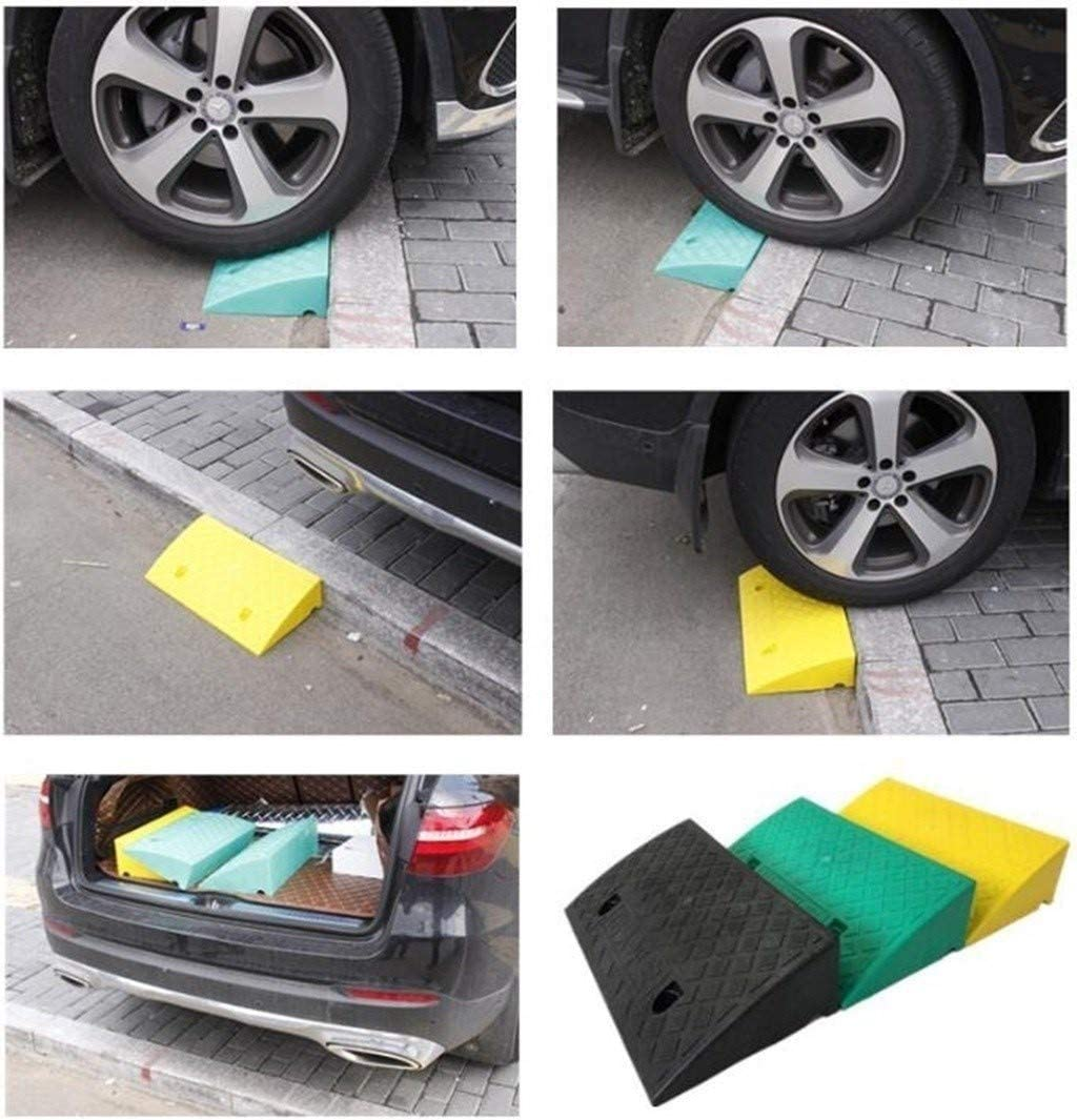 Street Solutions for Wheelchairs Caravan Scooter Wheels 11 way bike CSQ-Ramps 5-9CM Plastic Threshold Pad Non-Slip Kerb Ramps Color : Black, Size : 50279CM Motorcycle Kerb Ramps