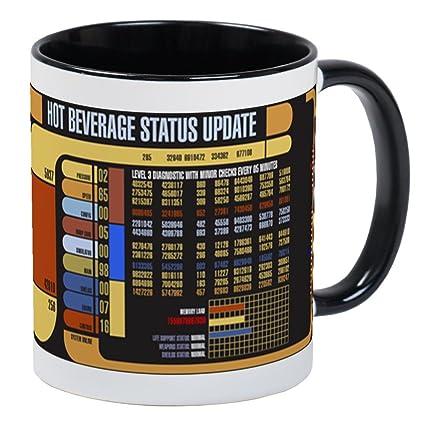 Amazon com: CafePress Star Trek LCARS Mugs Unique Coffee Mug