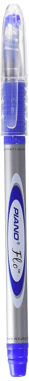 Piano Flo Liquid Ink Pen- Blue Pack of 10 Sayyed Engineers Flo- Blue