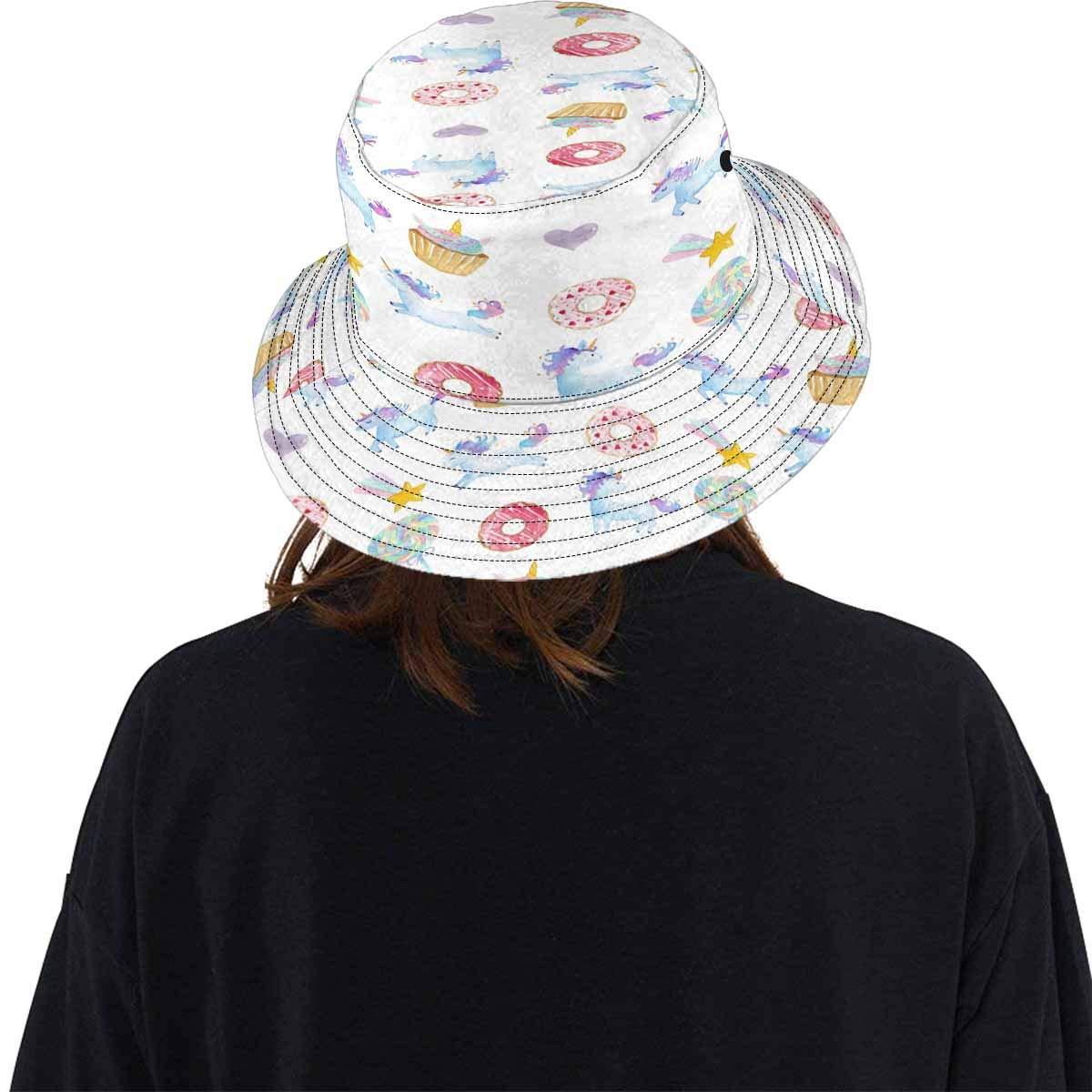 INTERESTPRINT Unisex Bucket Hats