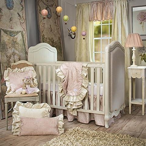 Glenna Jean Angelina Starter Set, Pink, 3 Piece - Glenna Jean Baby Crib