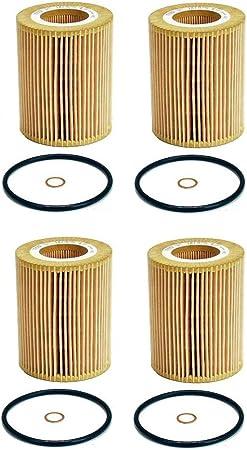 Set of 2 Oil Filters For BMW E36 Z3 E39 E46 E60 E83 X3 325xi 525i 528i Z3 Z4