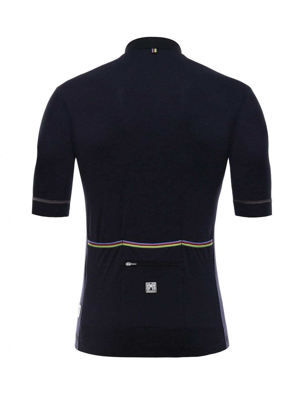 Santini UCI Rainbow Origine Maglia Manica Corta Uomo