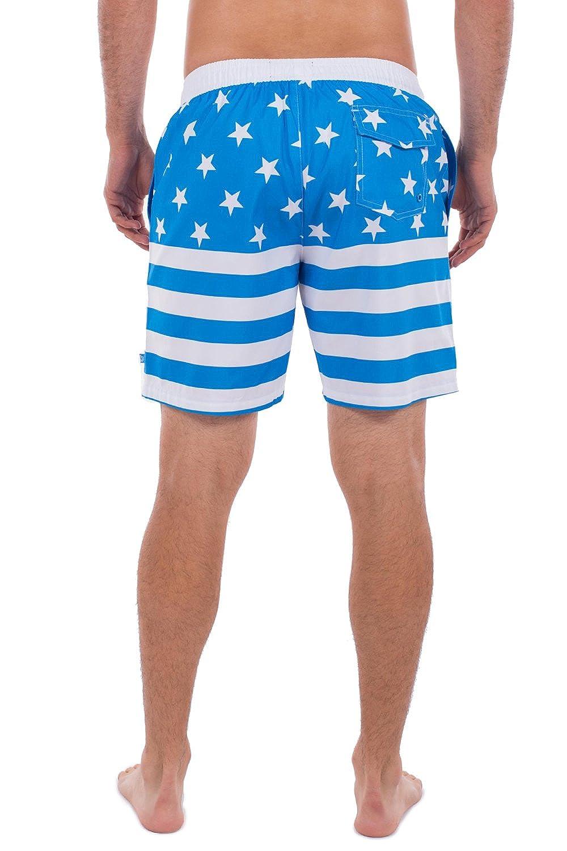 Tipsy Elves Mens Lightweight Summer Board Shorts Short Swim Trunks for Men
