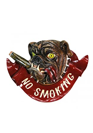 Amazon.com: No Smoking Bull Dog Bulldog tienda restaurante ...
