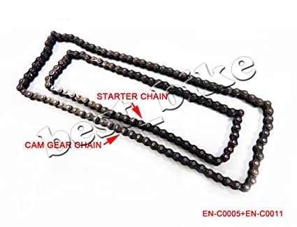Amazon com: 62 Link Starter Chain and 84 Link Cam Timing