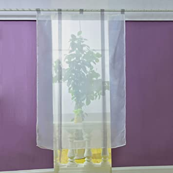 Amazon.de: Mercu Vorhänge Fenster Vorhang Modern Sheer Küche ...