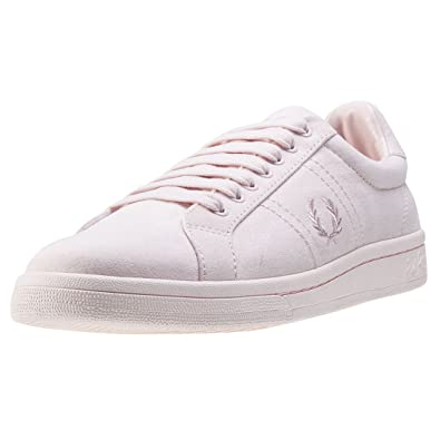 Fred Perry Brushed Cotton Court Niña Zapatillas Rosa: Amazon.es: Zapatos y complementos