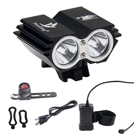Waterproof LED Outdoor Cycling Bike Bicycle Front Head Light Headlight Headlamp