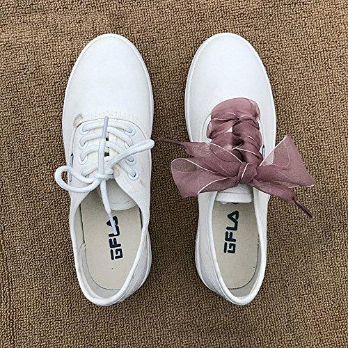 de Morado cinta de Léger 8 deporte zapatos para poliéster Tan Cordones de única nbsp;cm talla y modernos MMRM 3 p1Rnwqfx